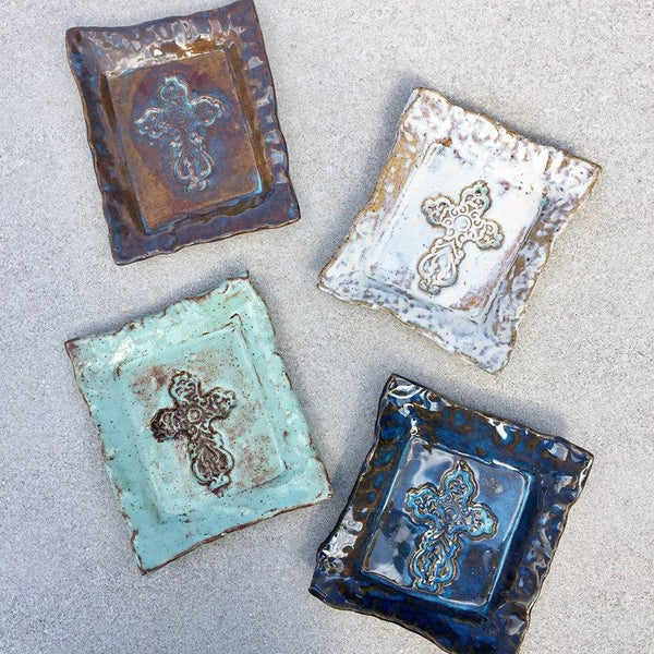 Inspirations Pottery Dish - Angela Wood Designs