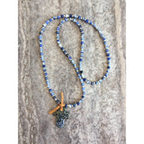 Small Serendipity bead necklace-Angela Wood Designs