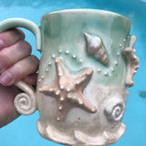Stars of the Sea Starfish Mugs - Angela Wood Designs