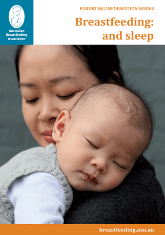 Breastfeeding: and sleep cover