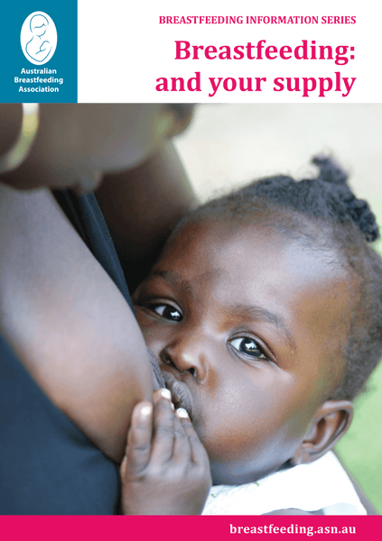 Breastfeeding: and your supply cover