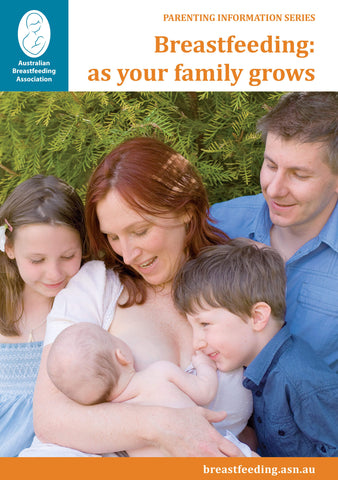 Breastfeeding: as your family grows cover