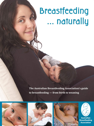 Breastfeeding naturally front cover