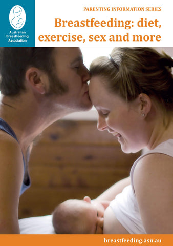 Breastfeeding: diet, exercise, sex and more cover