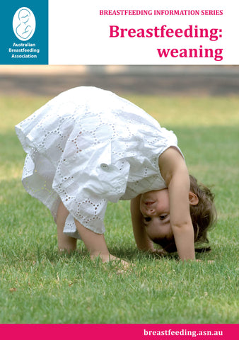 Breastfeeding: weaning cover