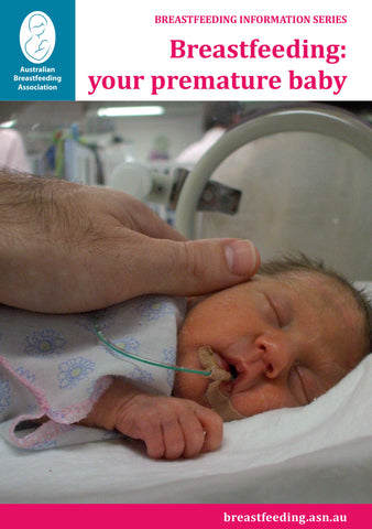 Breastfeeding: your premature baby cover