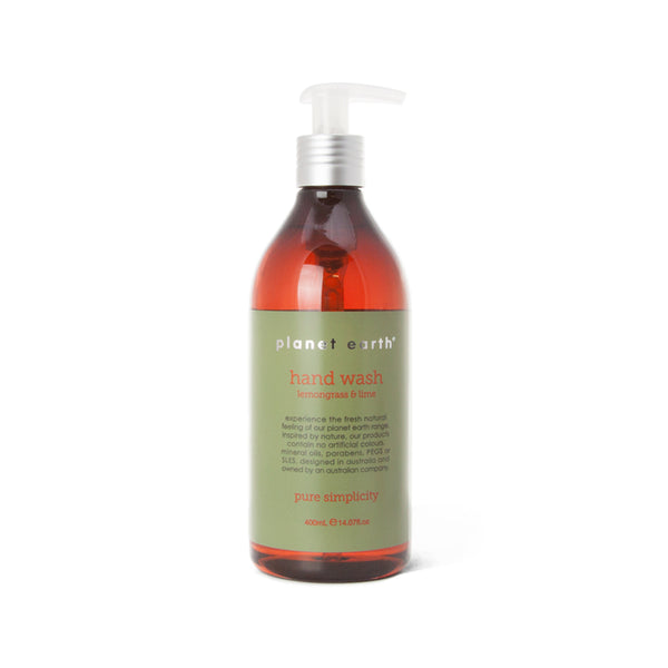 400ml Hand Wash - Lemongrass & Lime - The Grain Shop Online Store