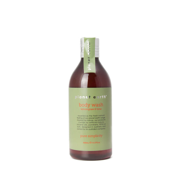 400ml Body Wash - Lemongrass & Lime - The Grain Shop Online Store