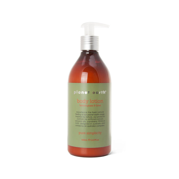 Body Lotion - Lemongrass & Lime 400ml - The Grain Shop Online Store