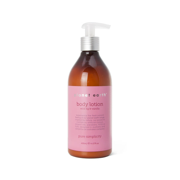 Body Lotion - Wild Fig & Vanilla 400ml - The Grain Shop Online Store