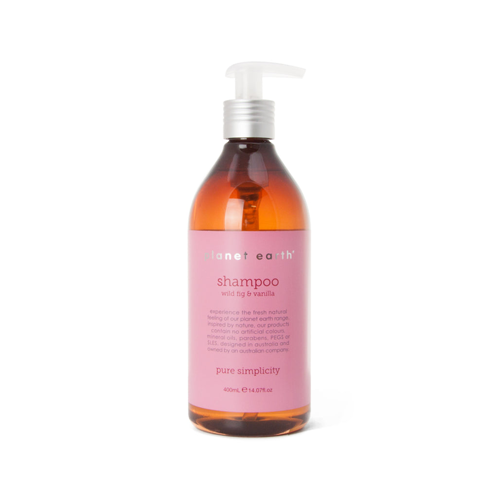 400ml Shampoo - Wild Fig & Vanilla - The Grain Shop Online Store
