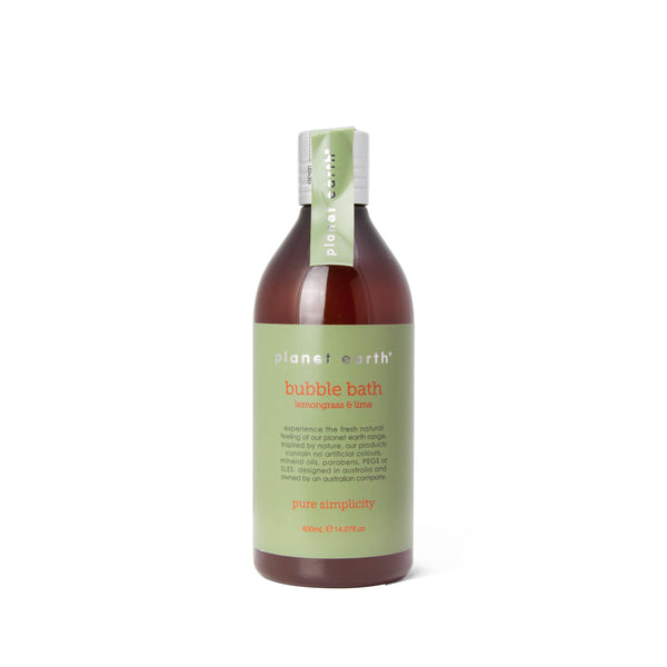 400ml Bubble Bath - Lemongrass & Lime - The Grain Shop Online Store
