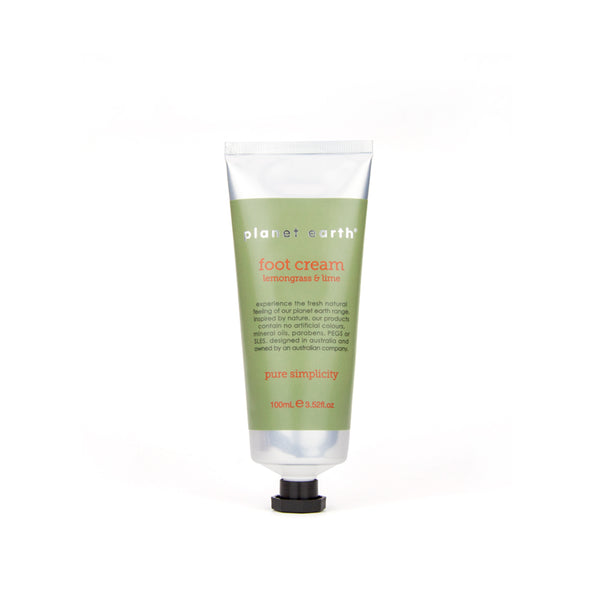 100ml Foot Cream - Lemongrass & Lime - The Grain Shop Online Store