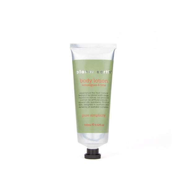 100ml Body Lotion - Lemongrass & Lime - The Grain Shop Online Store