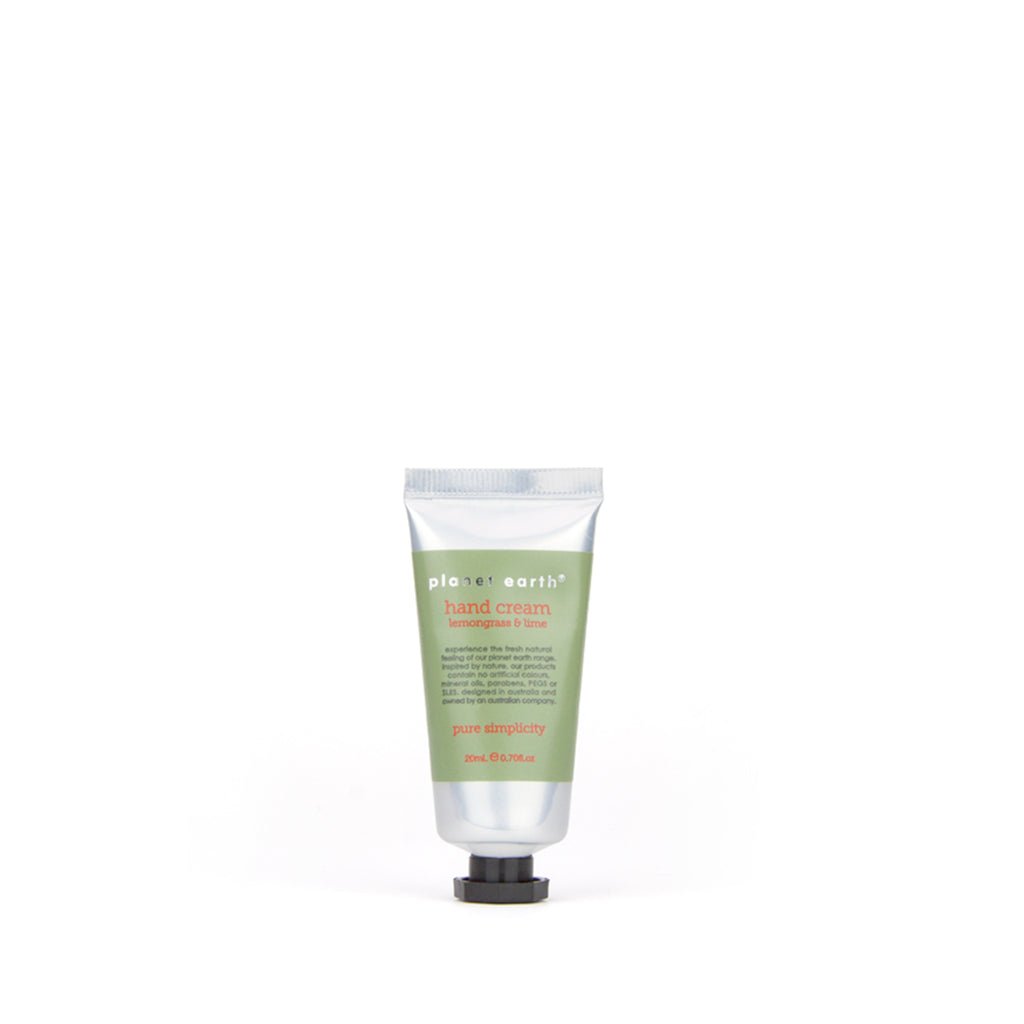 20ml Mini Hand Cream - Lemongrass & Lime - The Grain Shop Online Store