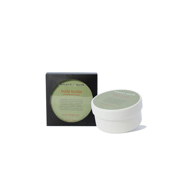 Body Butter  - Lemongrass & Lime - Planet Earth Naturals Skin & Body Care