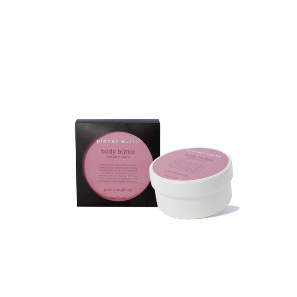 Body Butter  - Wild Fig & Vanilla - Planet Earth Naturals Skin & Body Care