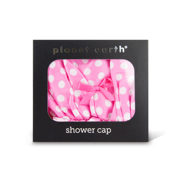 Shower cap - Pink Dots - The Grain Shop Online Store