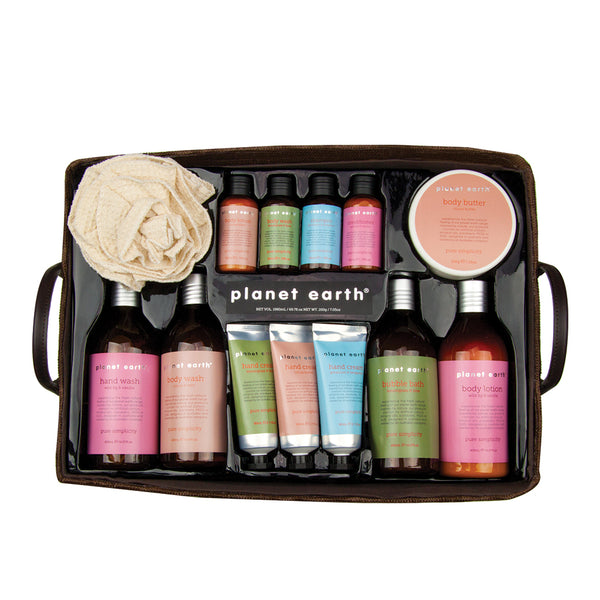 Body Hamper - Planet Earth Naturals body care gifts and home decor