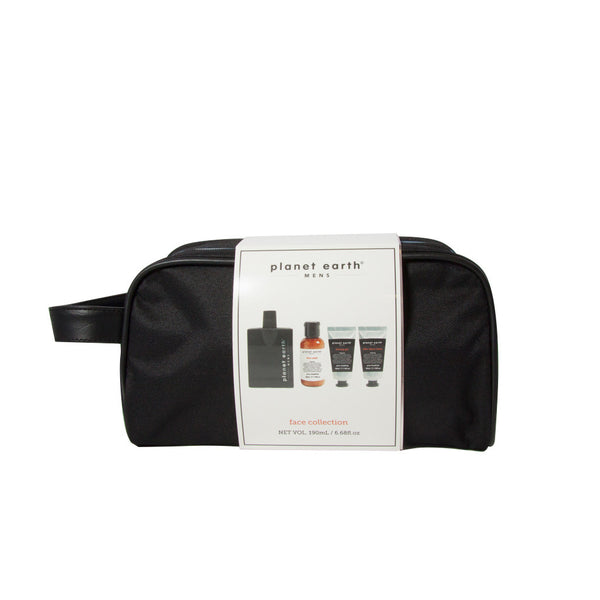 Face Collection - Midnight Storm - body care in travel bag for mens