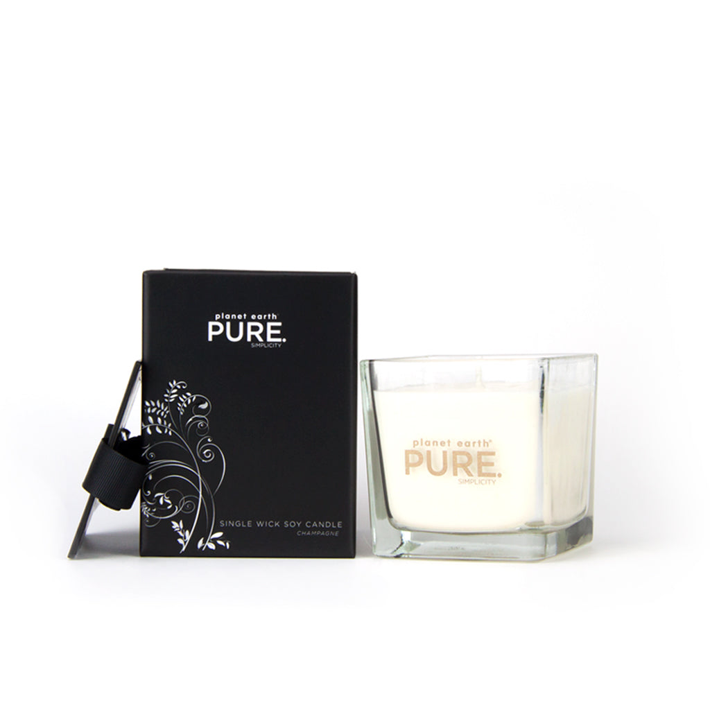Small Square Candle - Champagne - The Grain Shop Online Store