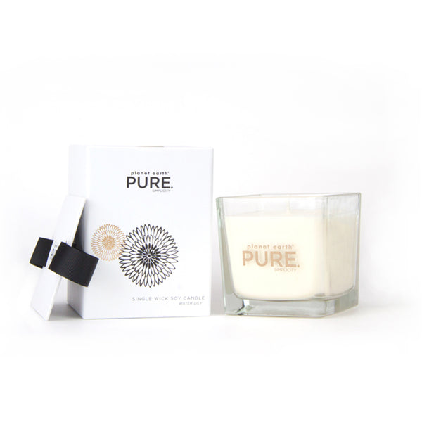 Small Square Candle - Water Lily - The Grain Shop Online Store