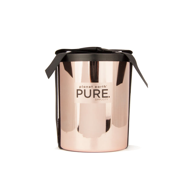 Large Metal Candle - Rose Gold - Summer Breeze - The Grain Shop Online Store