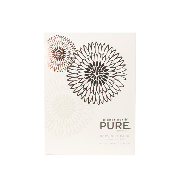Pure body care gift pack white box front