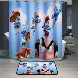Smurfs The Lost Village Shower Curtain