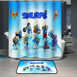 Smurfette Smurfs Shower Curtain