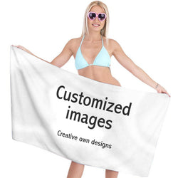 Customized Printing Bath Towels Hand Towels for Sports