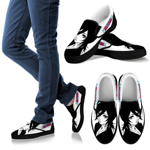 BLEACH Kuchiki Rukia -Men's Slip Ons
