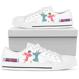 BLEACH Kurosaki Ichigo&Kuchiki Rukia -Women's Low Top Canvas Shoe