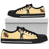 GINTAMA Okita Sougo -Men's Low Top Canvas Shoe