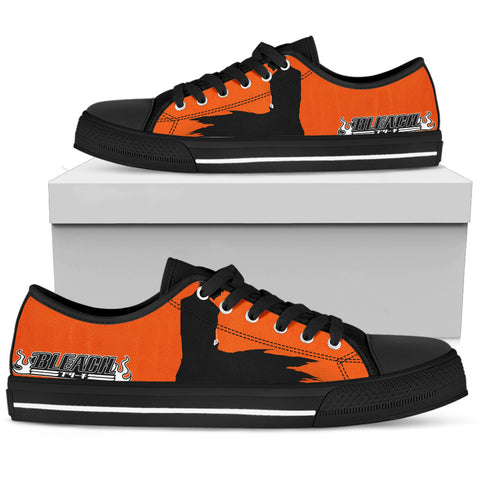 BLEACH Kurosaki Ichigo 1 - Men's Low Top Canvas Shoe