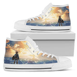 Zelda Link -Men's High Top Canvas Shoe