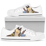 GINTAMA Hijikata Toushirou 1 -Men's Low Top Canvas Shoe