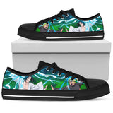 Hokage Naruto 1- Women's Low Top Canvas Shoes