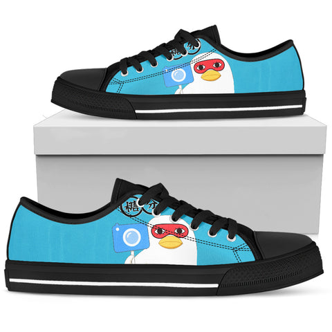 GINTAMA Elizabeth -Men's Low Top Canvas Shoe
