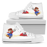 Super Mario Odyssey -Women's High Top Canvas Shoe