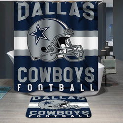 Dallas Cowboys Football Logo Custom Shower Curtain