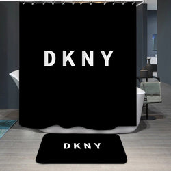 DKNY Logo Custom Shower Curtain