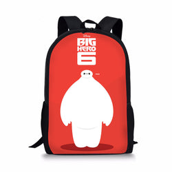 Disney Big Hero 6 Custom Printing Backpacks