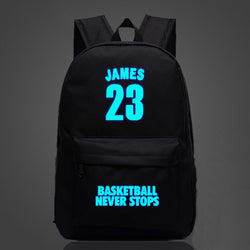 James LeBron 23 Colorful Luminous Backpacks