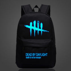 Dead By Daylight Colorful Luminous Backpacks