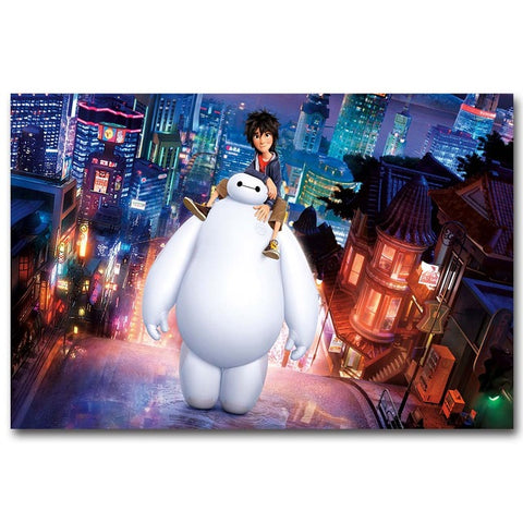 Big Hero 6 - 1 Piece Canvas Wall Art – itdayshop