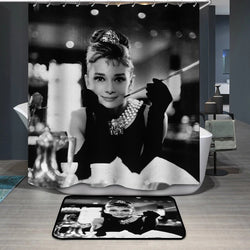 Audrey Hepburn Roman Holiday Custom Shower Curtain