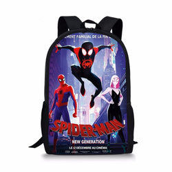 SpiderMan: Into the Spider-Verse Custom Printing Backpacks