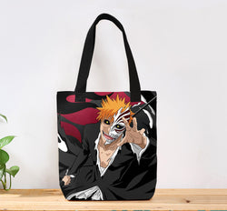 Bleach Custom Canvas Tote Bag