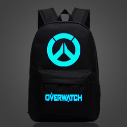Overwatch Colorful Luminous Backpacks